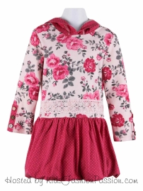 castle_spot_trimmed_royal_rose_hooded_dress-GBD5213FL24-tilly