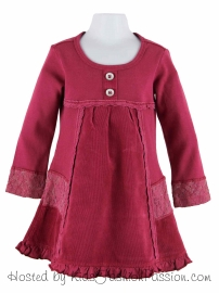lace_trimmed_corduroy_&_knit_dress-GBD5226FL24-cerise