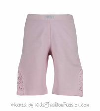 essentials lace inset bike shorts-GBB4538SU24-pearly